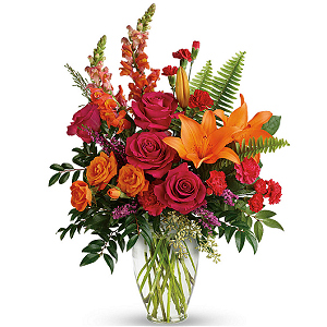Punch of Color Bouquet - As shown