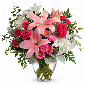 Blush Rush Bouquet - Elegant