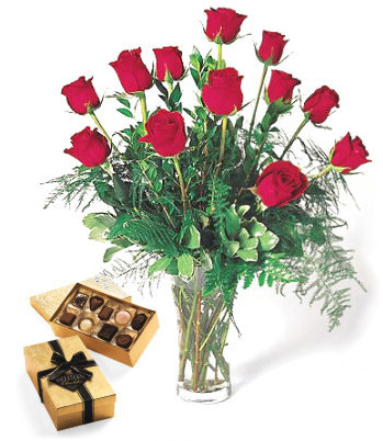 Red Roses and Box of Chocolates