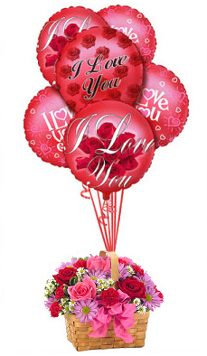 Montecassino Flowers on Valentine S Day Flowers   Love In The Air Bouquet